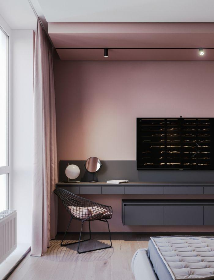 Altrosa Creme Und Grau Kombinieren Kinderzimmer Streichen Altrosa Wandfarbe Und Deko Im Geschlechtsneutrales Kinderzimmer Diy Kinderbett Schone Kinderzimmer
