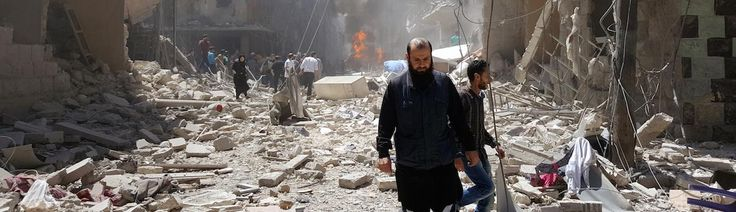 Another Aleppo Hospital Attacked as Rebels Launch New Offensive
