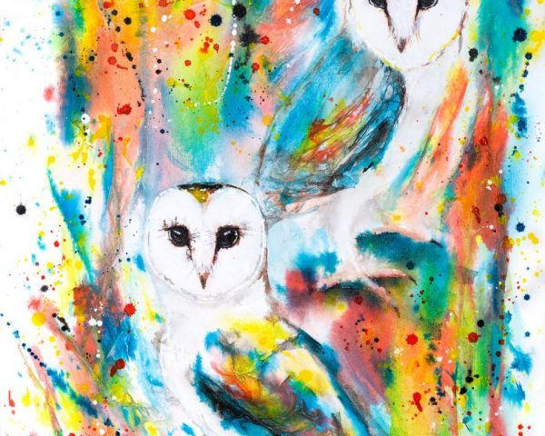 The Ink Series: Owls I