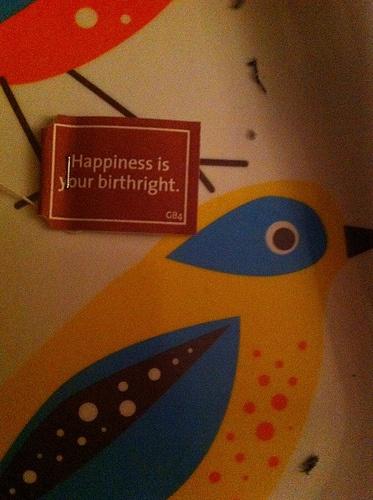 :-) happiness