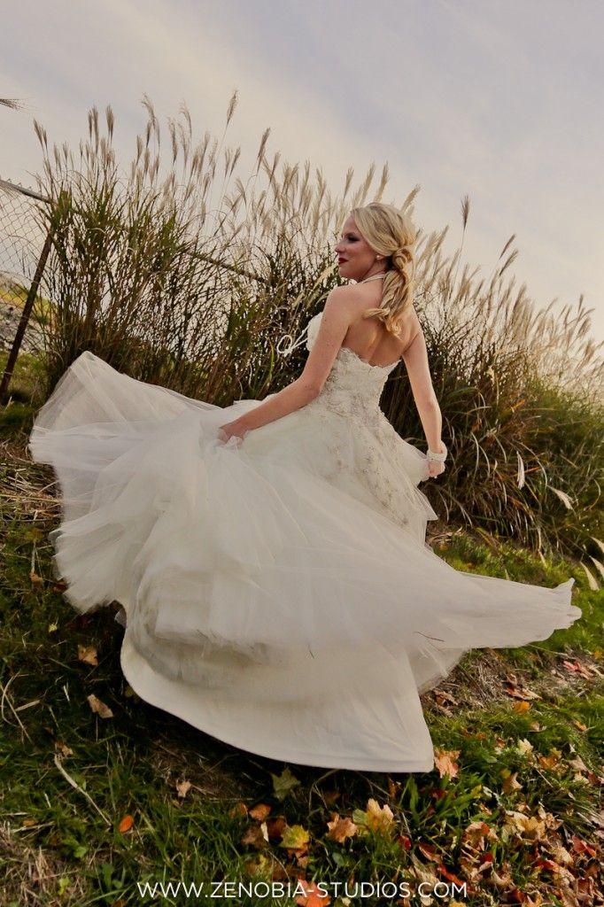 Jim Hjelm wedding gown