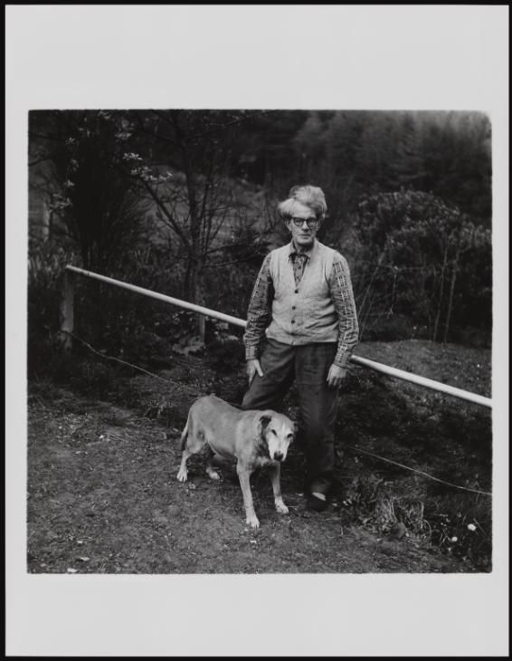 Keith Arnatt 'Walking the Dog', 1976–9 © Keith Arnatt Estate