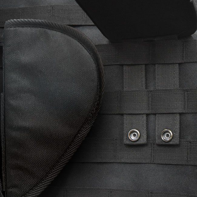 Molle Door Panel Organizer - Snaps and secures your accessories into place to organize your safe door.