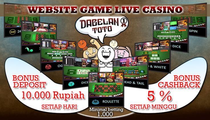 DagelanToto,com Website Game Live Casino Terbaik.  Menyediakan permainan :  ✪ BALL 24D ✪ BOLA GELINDING ✪ ROULLETE ✪ SICBO BALL ✪ HEAD/TAIL ✪ SICBO DICE ✪ OGLOK  PROMO : ✪ BONUS DEPOSIT 10RB SETIAP HARI ✪ BONUS CASHBACK 5% YANG DI BAGIKAN SETIAP HARI   AYO BURUAN DAFTAR DI DAGELANTOTO,com UNTUK INFORMASI YANG LEBIH LENGKAP HUBUNGI :  ✪ LIVECHAT : www,dagelantoto,com ✪ BBM : 559DCB93
