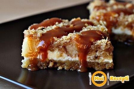 caramel apple cheesecake