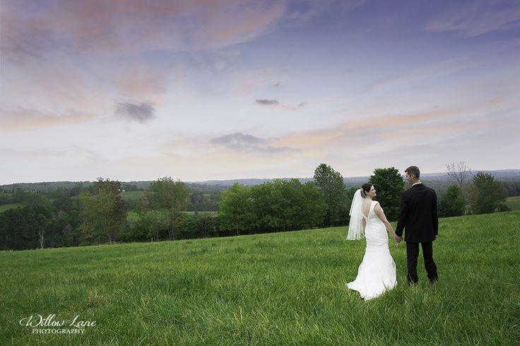 Sunset wedding photo by Willow Lane Photography - Barrie Wedding Photographer www.willowlanephotography.ca