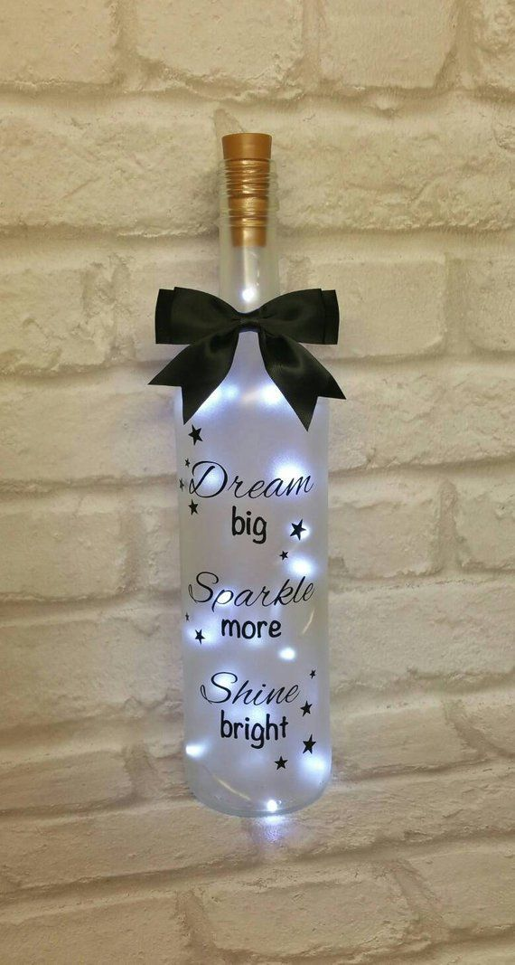 Light Up Wine Bottle Birthday Gift Christmas Gift