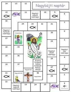 Gyereketető: Nagyböjti naptár gyerekeknek