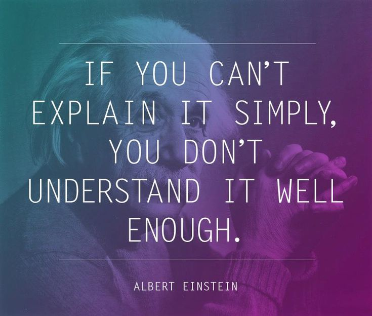 understand it well