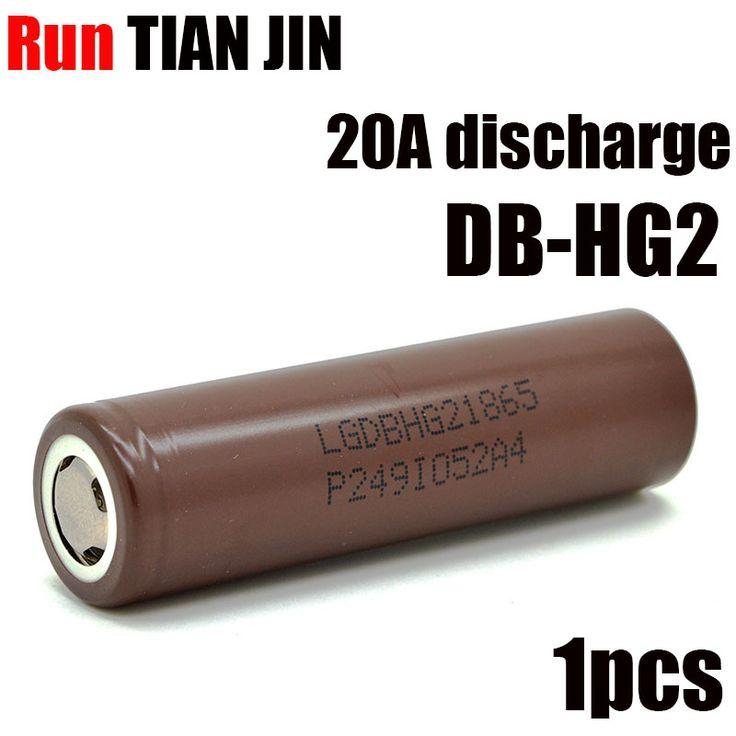 1PCS/lot  hg2 18650 li-ion akku akku 3000 mah for elektronische zigarette box mod vape 20A discharge 18650  #Affiliate