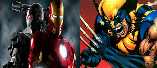 Wolverine vs Iron Man fight