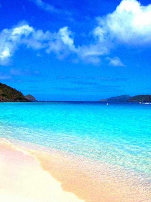 St. Thomas - Secluded - at peace - alone - having been there, nothing is better than this with the one you love!     Lauren this pic is for you!