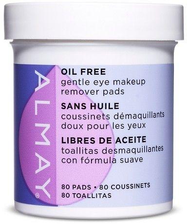 Almay Oil Free Almay Oil-Free Eye Makeup Remover Pads - 80ct