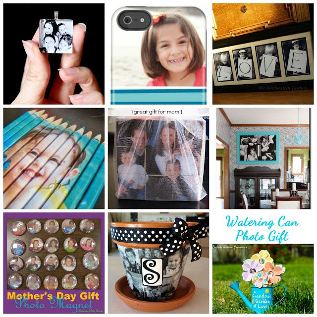 Cute I would like to try these!Mother's Day Photo Gift Ideas