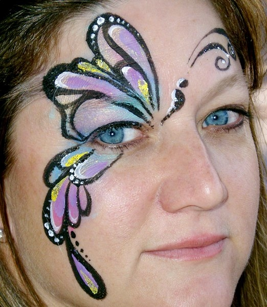 Birthday face paint?!
