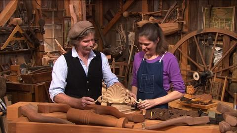 This storied series starring Roy Underhill teaches traditional woodworking skills to millions of national public television viewers.