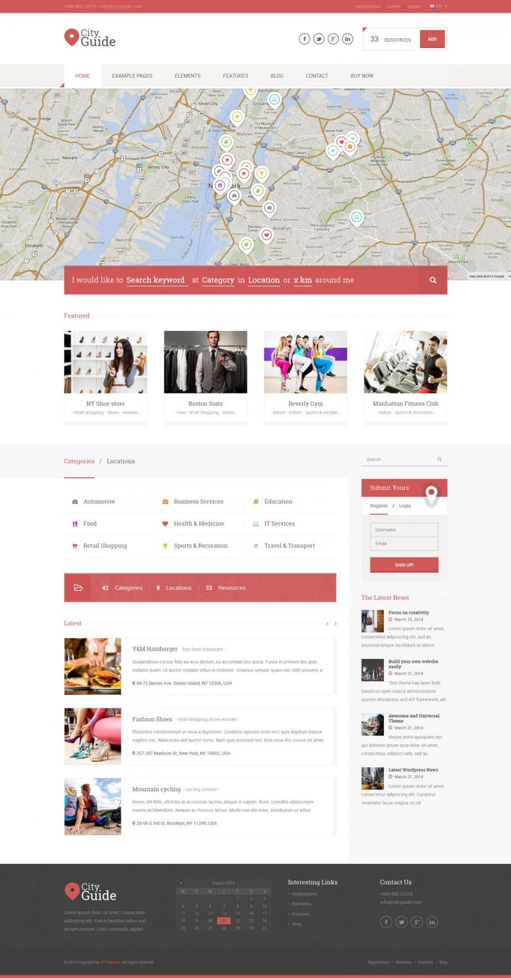 The 3rd generation of #Wordpress-Directory-Theme, based on best selling Directory theme on ThemeForest.Net . We plan 2nd and 3rd version with unique features. Stay tuned :) we are going update this awesome #template, soon.