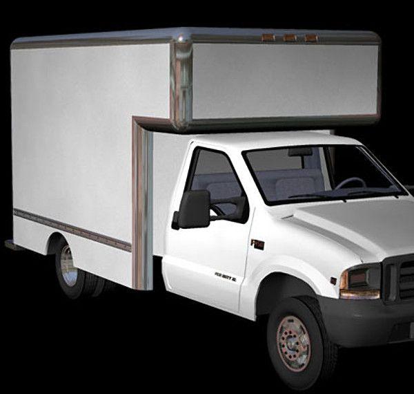 Utility Truck Van Zero Pz3 - 3D Model