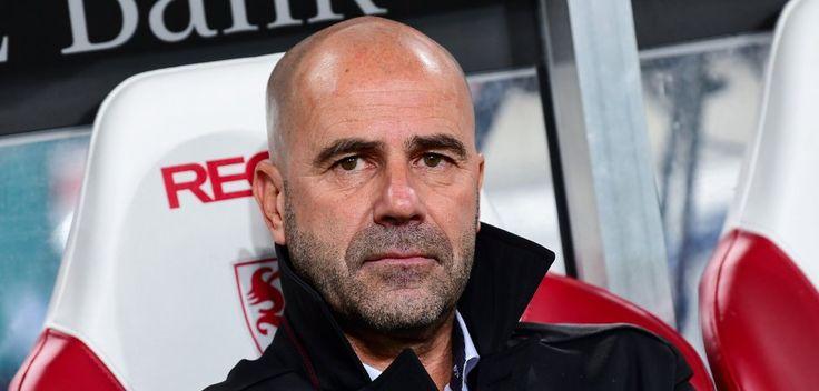 Trainer Peter Bosz von Borussia Dortmund.
