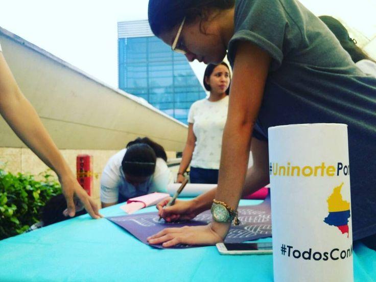 #UninortePorMocoa y #todosconmocoa