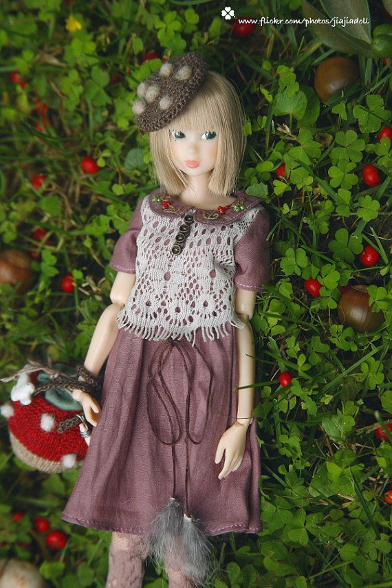 Hello! Welcome to Jiajia Dolls World.    ★If you want Misaki or Blythe size, please let me know. Thank you!    This dress is for momoko doll and other