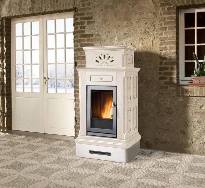 PELLET STOVE CANAZEI STUBOTTO COLLECTION BY PIAZZETTA