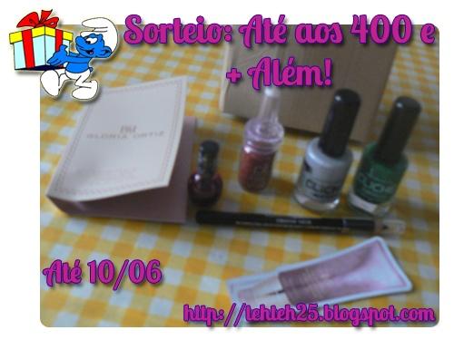 Blog #giveaway (Portugal only) - http://tehteh25.blogspot.pt/2013/05/sorteio-ate-aos-400-e-alem.html