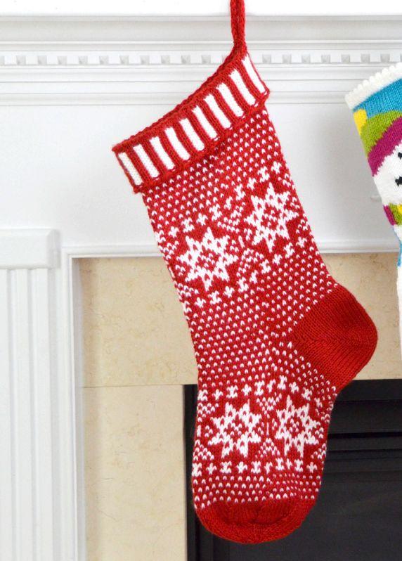 625 best Christmas Stockings images on Pinterest | Patrones de ...