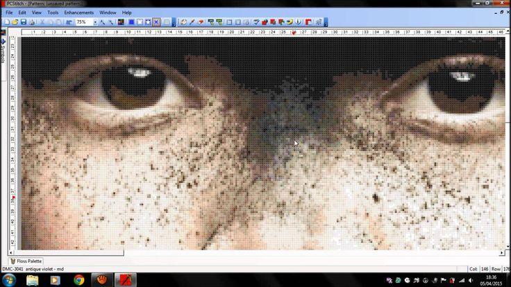 PcStitch Commission… Ojos