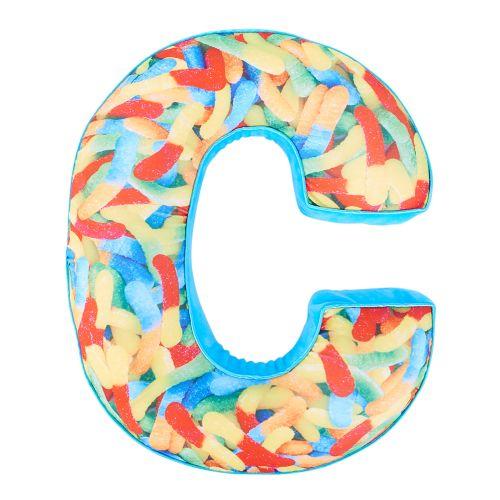Dylan's Candy Bar Letter C Candy Alphabet Pillow | Dylan's Candy Bar