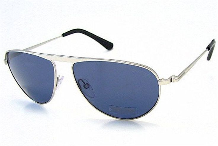 TOM FORD James Bond 007 TF108 TF-108 Matte Rhodium 19V Sunglasses