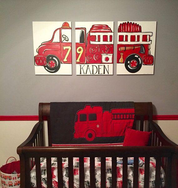 17 Best Ideas About Fire Truck Room On Pinterest Fire