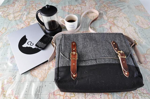 The Sadler Messenger Bag - By Emma Cornes