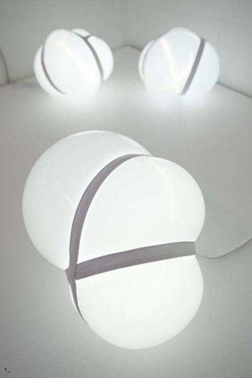 Justyna Popławska, 'Luminaire' lamp, photo: courtesy of the designer
