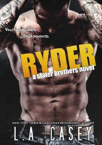 Okładka książki Ryder