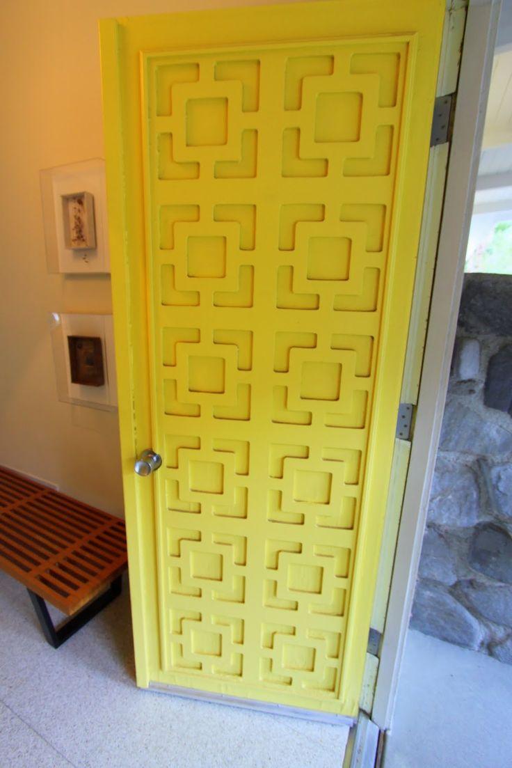 25 Best Ideas About Midcentury Front Doors On Pinterest