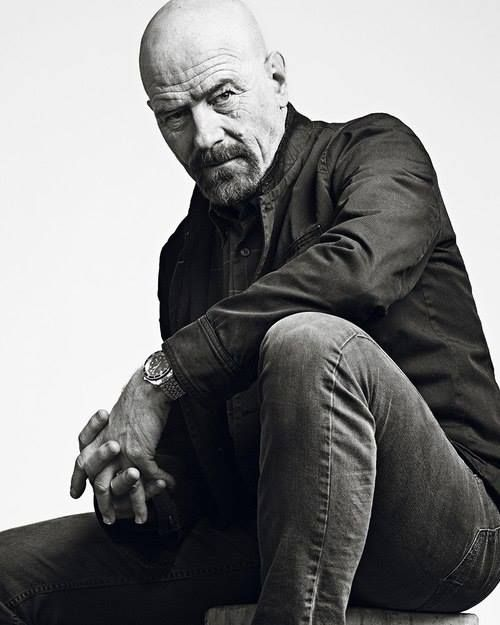Bryan Cranston - Breaking Bad. His level of attractiveness increased a ridiculous amount after he saved his head!