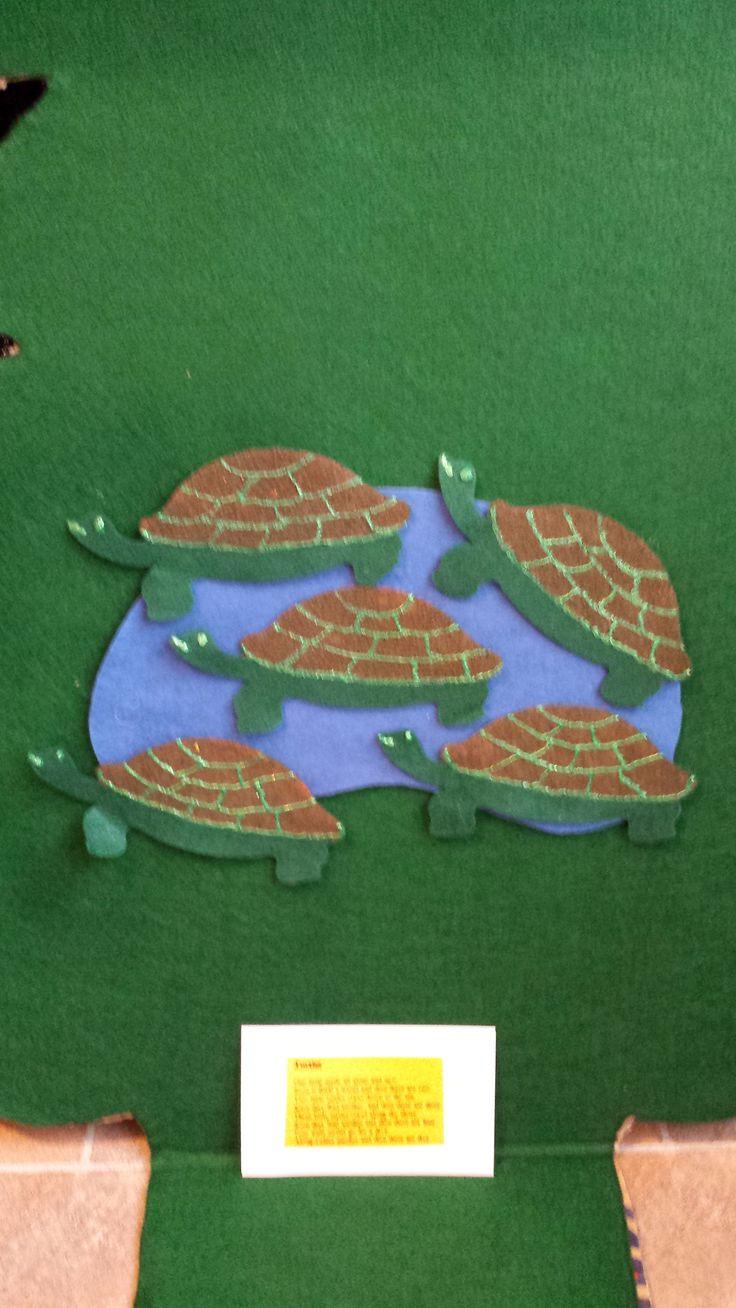 five little turtles