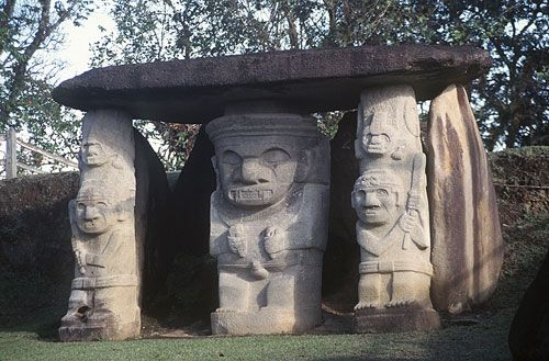 In addition to its Christian pilgrimage shrines, Colombia also has an important pre-Colombian ceremonial center called San Augustin. Considered by archaeologists to be one of the most significant ancient places in Latin America.