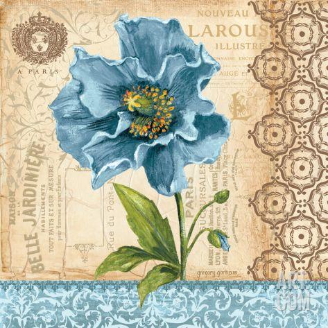 Poppy Print by Gregory Gorham at eu.art.com