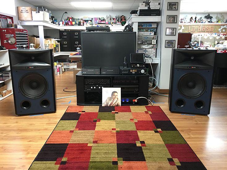 JBL 4367 Studio Monitor Loudspeaker - Setup