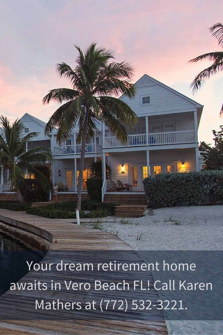 Get your own space or home now in a Vero Beach FL 55+ communities! I am Karen Mathers, a licensed full time REALTOR® in Vero Beach in the state of Florida. When you feel that you would also like to have your dream retirement home here in our community, then do not hesitate to call me at (772) 532-3221.