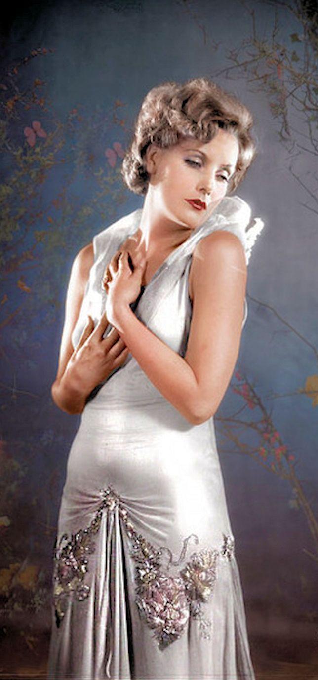 Greta Garbo - Color by Klimbims