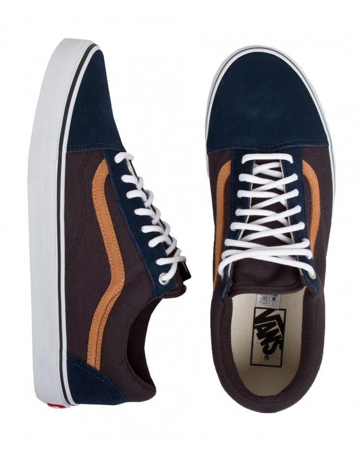 Vans Surplus Old Skool Shoes - Dress Blues/Blue Graphite