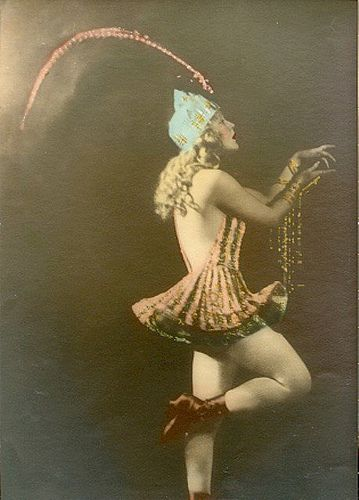 Mae Murray as 'Sonia' - 1920 - On with the Dance - Directed by George Fitzmaurice - American silent costume drama - Paramount Artcraft Picture - Photo:  Alfred Cheney Johnston