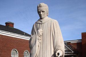 Noah Webster Statue in West Hartford Connecticut