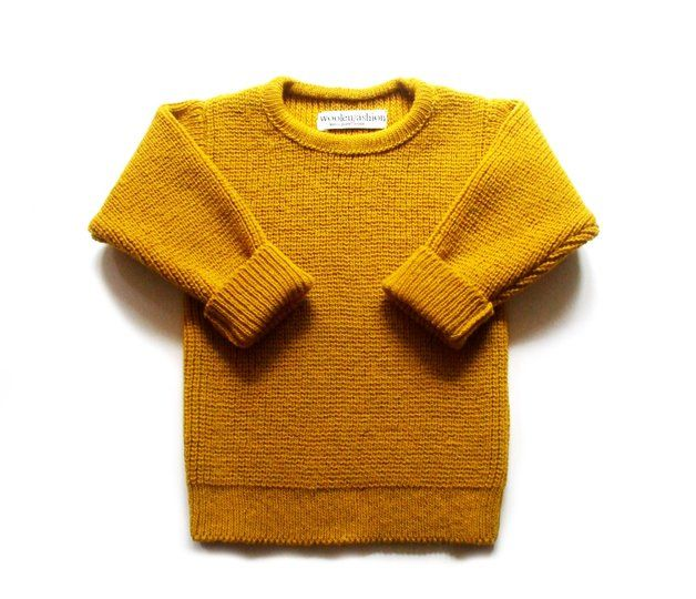 Jumpers & Sweatshirts – Children's lambswool crew neck sweater/pullover – a unique product by woolenfashion on DaWanda