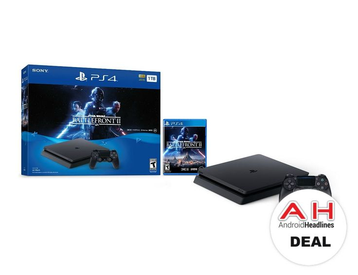 Deal: Sony PlayStation 4 Slim 1TB Star Wars Battlefront II Bundle for $249 – 12/15/17 #Android #Google #news #playstation4