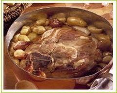Rouelle de porc aux échalotes (facile, rapide) - Une recette CuisineAZ