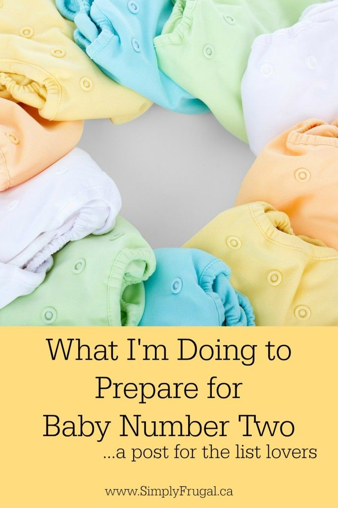 What are some things you did to prepare for baby number two (or three, four...) Here's what I'm Doing to Prepare for Baby Number Two. The list lovers will love this list post.
